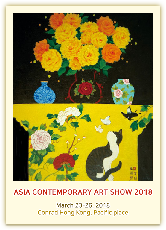 ASIA CONTEMPORARY ART SHOW 2018  March 23-26, 2018 Conrad Hong Kong. Pacific place